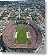 Miami Aerial Of Orange Bowl Stadium Metal Print by Scott B Smith Photography