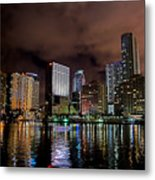 Miami Metal Print by Nelson Rodriguez