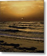Miami Sunrise Metal Print by Gary Dean Mercer Clark
