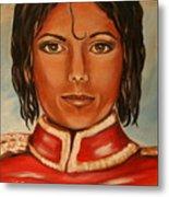 Michael Jackson Metal Print by Dyanne Parker
