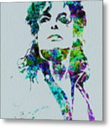 Michael Jackson Metal Print by Naxart Studio