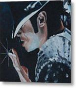 Michael Jackson Metal Print by Mikayla Ziegler