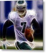 Michael Vick - Philadelphia Eagles Quarterback Metal Print by Paul Ward