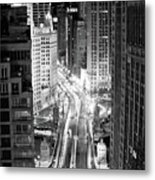 Michigan Avenue Metal Print by George Imrie Photography