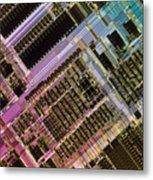 Microprocessors Metal Print by Michael W. Davidson