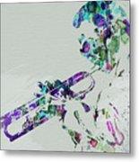Miles Davis Metal Print by Naxart Studio