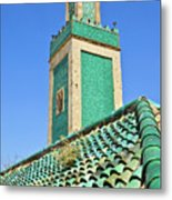 Minaret Of Grand Mosque Metal Print by Kelly Cheng Travel Photography