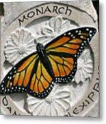 Monarch Metal Print by Ken Hall
