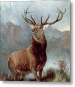 Monarch Of The Glen Metal Print by Sir Edwin Landseer