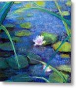 Monets Garden Metal Print by Susan Jenkins