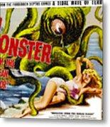 Monster From The Ocean Floor, Anne Metal Print by Everett