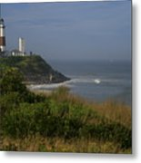 Montauk Point Metal Print by Christopher Kirby