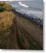 Montauk Surf And Turf Metal Print by Christopher Kirby