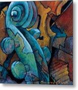 Moody Blues Metal Print by Susanne Clark