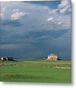 Moody-buttes Metal Print by Jim Benest