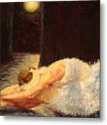 Moonlight Ballet Metal Print by Colleen Murphy