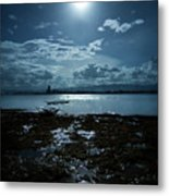 Moonlight Metal Print by Rodell Ibona Basalo