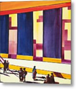 Morning Commute Cle Metal Print by JoAnn DePolo