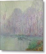 Morning Mist Metal Print by Gustave Loiseau