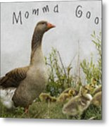 Mother Goose Metal Print by Juli Scalzi