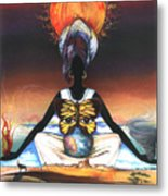 Mother Nature II Metal Print by Anthony Burks Sr