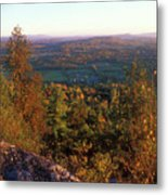 Mount Philo Foliage View Metal Print by John Burk