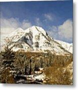 Mount Timpanogos Metal Print by Scott Pellegrin