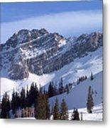 Mountain High - Salt Lake Ut Metal Print by Christine Till