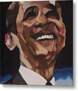 Mr. Obama Metal Print by Chelsea VanHook