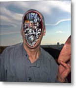 Mr. Robot-otto Metal Print by Otto Rapp