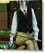 Mr. Thomas Tudor - Great Dane Portrait Metal Print by Linda Apple
