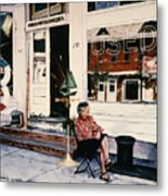 Mrs. Persteins Metal Print by Marguerite Chadwick-Juner