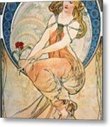 Mucha: Poster, 1898 Metal Print by Granger