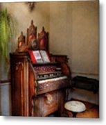 Music - Organ - Hear The Joy  Metal Print by Mike Savad