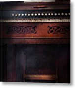 Music - Organist - Do Not Mortgage The Farm Metal Print by Mike Savad