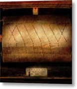 Music - Piano - Binary Code  Metal Print by Mike Savad
