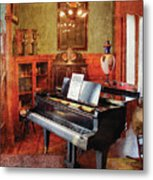 Music - Piano - It's A Long Long Way To Tipperary Metal Print by Mike Savad