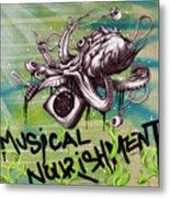 Musical Nourishment Metal Print by Tai Taeoalii