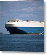 Mv Marvelous Ace Inbound Port Of Baltimore Metal Print by Wayne Higgs