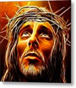 My God  Why Have You Abandoned Me Metal Print by Pamela Johnson