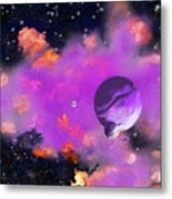 My Space Metal Print by Methune Hively