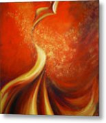 Mystery Dance Metal Print by Dina Dargo