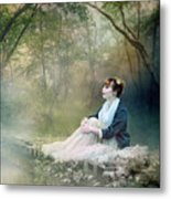 Mystic Contemplation Metal Print by Mary Hood