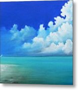 Nap On The Beach Metal Print by Susi Galloway