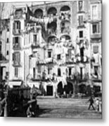 Naples Italy - C 1901 Metal Print by International  Images