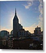 Nashville Skyline Metal Print by Susanne Van Hulst