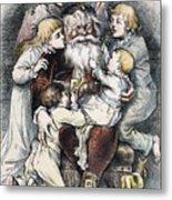 Nast: Christmas, 1879 Metal Print by Granger