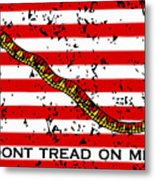 Navy Jack Flag Metal Print by War Is Hell Store