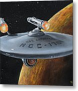 Ncc-1701 Metal Print by Kim Lockman