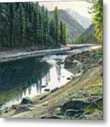 Near Horse Creek Metal Print by Steve Spencer